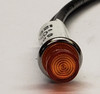 2150-1-12-21620, indicator light, round, 125 volt, neon, amber, solico, wire leads, high ring amber lens, 3sf5lan1, hf22
