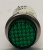 indicator light, 250 volt, neon, green, round, 3052-3-11-38340, solico