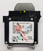 AO1-B0-34-615-5N3-I, marine grade circuit breaker, 15 amp, carling, a series, ignition protected, ISO 8846 breaker, single pole 15 amp breaker, rocker guard, yellow, A01-X0-05-260-X63-I