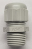 cable gland, 5308905, Altech, grey strain relief, straight through, half inch npt thread