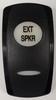 VVG9CXX-100-XETS1, carling, v series, rocker switch cap, contura 5, exterior speaker actuator, 10211933, 3976484