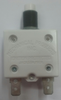 """mechanical products 25 amp push to reset circuit breaker, 7/16"""" bushing, quick connect terminals 1600-037-250"""