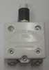 """mechanical products, 35 amp, push to reset, circuit breaker, 7/16""""-28 bushing, #6-32 screw terminals bent 90 degrees, 1600-082-350,gecb35at2"""