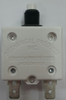 """Mechanical Products, 15 amp, push to reset breaker, 3/8""""-27 bushing, quick connects, amp stamp, 1680-037-150,141437,CB-15,PT-CB15"""