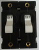 Ignition protected, Carling Technologies Circuit breaker, 30 amp, A Series, double pole, magnetic, screw terminals AA2-B0-34-630-4B1-I, 410820