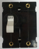 Carling Technologies Circuit breaker, 20 amp, A Series, double pole, magnetic, screw terminals, single handle AB2-B0-34-620-3B1-C
