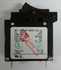 1815001, Carling Technologies Circuit breaker, 25 amp, A Series, single pole, magnetic, rocker, AC1-B0-24-625-1G1-C,1815001