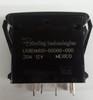 L68D1A601 Carling progressive L series rocker switch with cap, 1 Independent Lamp
