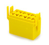 Terminal Connector Housing for L Series Rocker Switch, Yellow,135421,190-17507-007