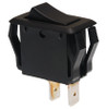 appliance size rocker switch, momentary, single pole, black, quick connects, spring return to off position,7400010,arm-96,g1-11-u,ts-spar96