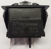 V2D1160B, switch, marine, auto, rocker, on-off, single pole, sealed, Carling, V Series, one lamp, lit switch, momentary,  RCV-37107380,00001656,033-0250,34996,swv2d1
