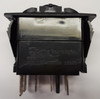 switch, marine, auto, rocker, on-off-on, single pole, sealed, Carling, V Series, two independent lamps, V6D1K66B,033-0260,16511995