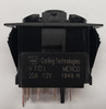 V7D1160B, switch, marine, auto, rocker, on-off-momentary on, single pole, sealed, Carling, V Series, 1 independent lamp,