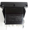 V8D2U661, switch, marine, auto, rocker, double momentary, single pole, sealed, Carling, V Series, 2 independent lamps, raised bracket, 1142695, 19922, 1825-325,RCV-00002866