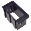 carling, v series, rocker switch,  mounting panel, end, black, vme, blue sea 8267, utilimaster 16511793-END