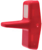 VVMRZ00-000, Carling Rocker Switch Paddle Actuator, Red with one white square lens,75302-41