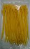 Self Locking Nylon Miniature Cable Ties. Yellow