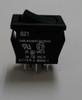 Carling Miniature Rocker Switch, single pole, on-on, solder terminals, 621-11221-0-0-N,7707004