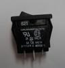 Carling Miniature Rocker Switch, double pole, on-on, solder terminals, 621-12221-0-0-N,621-1222100N,7707005,C09009,E-1511