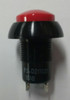 Otto P3-D211121, Push button switch, red raised dome button, Normally open, ele03010p, car wash switch