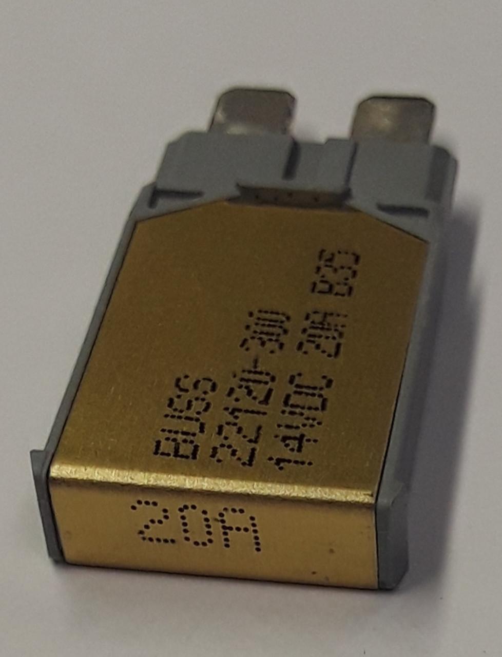 22120-300 cooper bussmann type 1 mini circuit breaker, auto reset, 20 amps