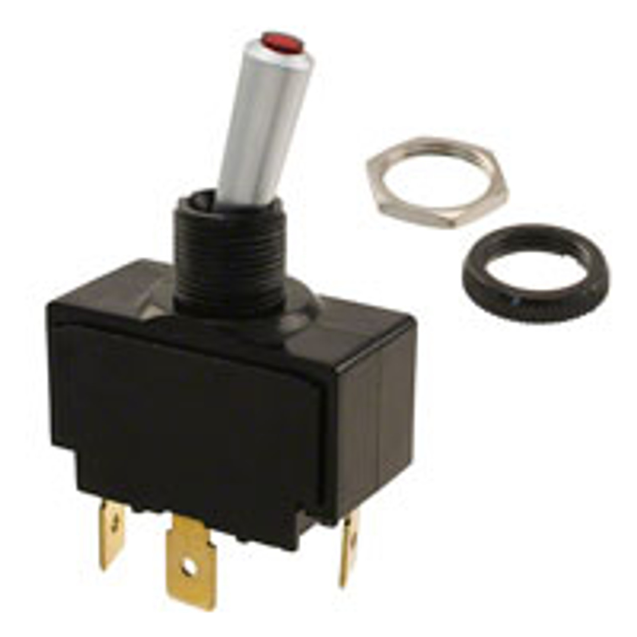 illuminated toggle switch wiring diagram lt 1511 610 012 carling red lit tip toggle switch  on off  single  lt 1511 610 012 carling red lit tip