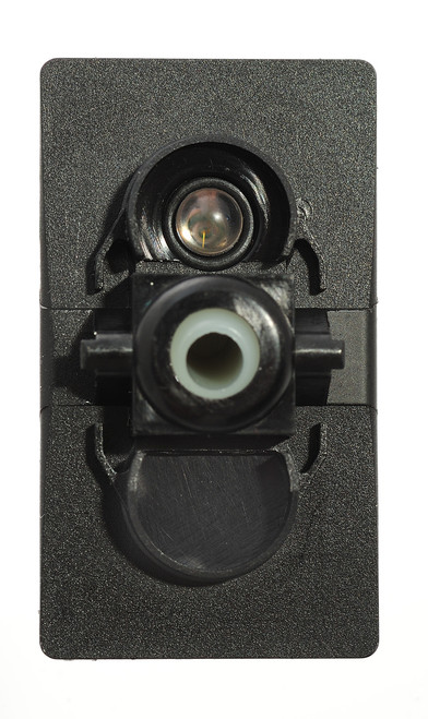 V2D1AX0B-000-XBLU1 Carling Momentary On -Off Rocker switch with blue led ,91-72-0010,rcv-37125670