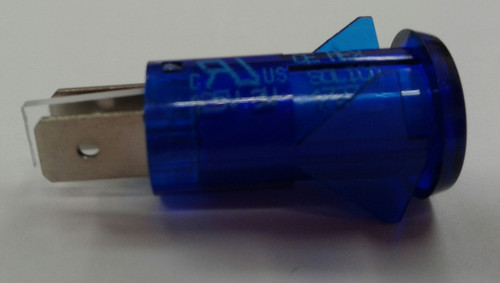 3150-4-00-57650 Solico 125 volt Neon Blue Round Indicator Light