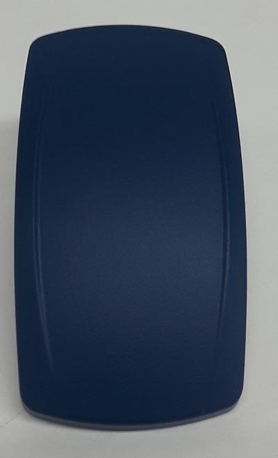 VVPZCX00-000-XBLU1, Carling, blue, laser etchable, rocker switch actuator, V series, Contura V, 468-40275-001
