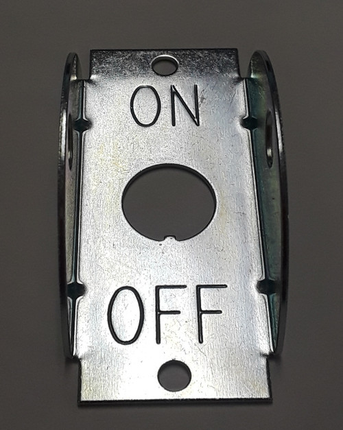 Carling Toggle Switch Guard marked On Off, 272-07293,107299,1451-1007,272-07293,276362,491233,70223,7961791,995750-01213,e000a,el00067b,k33