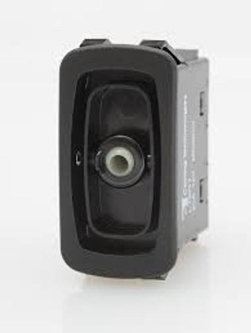 L11D1S001-000000-000 Carling SPST L Series Rocker Switch, On-Off, 20 Amp