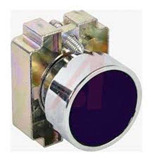 2AF2 Altech 22 mm Push Button Operator, Flush Black Button with Bracket