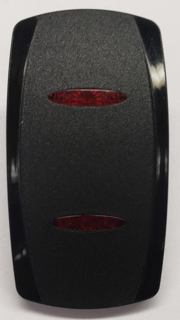 vvgnc00-000, Carling, v series, actuator, 2 red lens, dual red bar lens, switch cap, rocker switch cap, n10202098, 466-05000-029