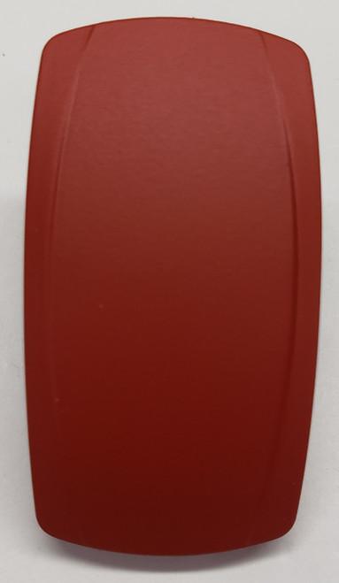 VVPZS00-000 Red Laser Etchable Carling Rocker Switch Actuator, No Lens, 468-32598-001, custom rocker switch cap