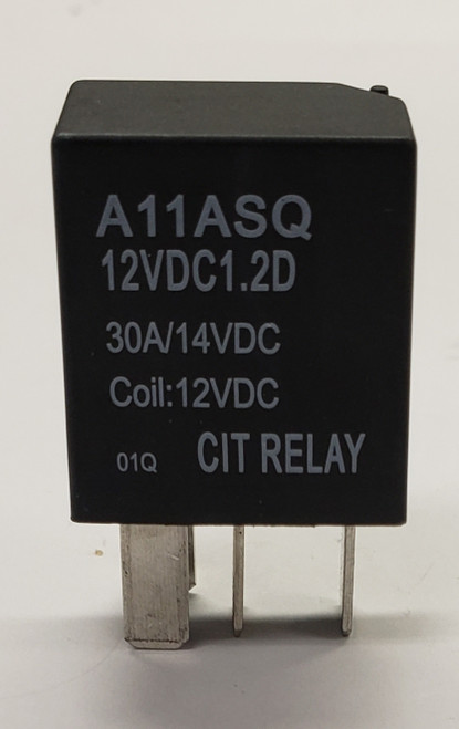 automotive relay,  30 amp relay, normally open, n.o., cit relay, A1 series, A11ASQ12VDC1.2D, SPST