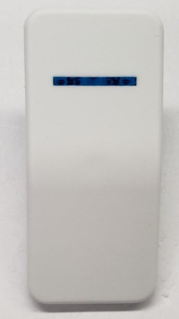 Carling V Series Contura X Actuator, Hard white, 1 Blue bar lens
