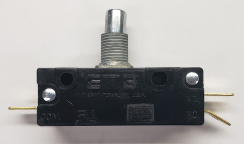 303-9074,  Snap Action Switch, emb,  2 circuit, normally open and normally closed, 7774351,