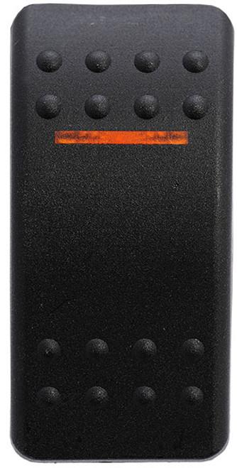 vvabb00-000, carling, v series, switch cap, actuator, contura 2, soft black, single amber lens