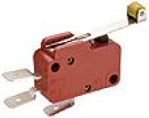 Marquardt Snap Action Switch 1006.1401,  1 normally open & 1 normally closed, roller lever, 10 amp, spade terminals, 1012568, 3203730