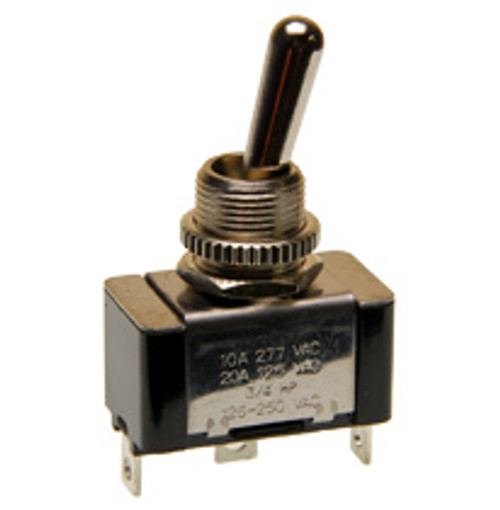 single pole on-on toggle switch, solder terminals, 7802k13