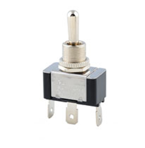 double pole on-off-on toggle switch, quick connect terminals, 7802k22
