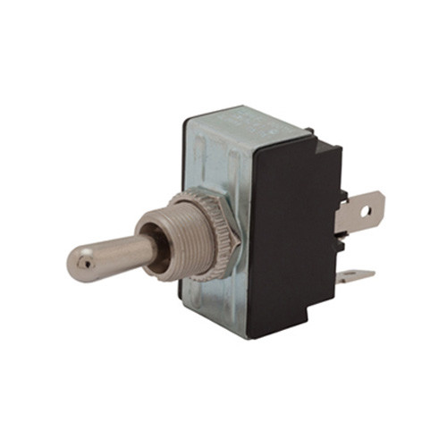 Reversing Toggle double pole, momentary, quick connects with jumpers, spring return to center off position, dpdt reversing toggle switch, spring loaded, double momentary, 024200, 106-17-3007, 6go53-73/tabs, 7300057