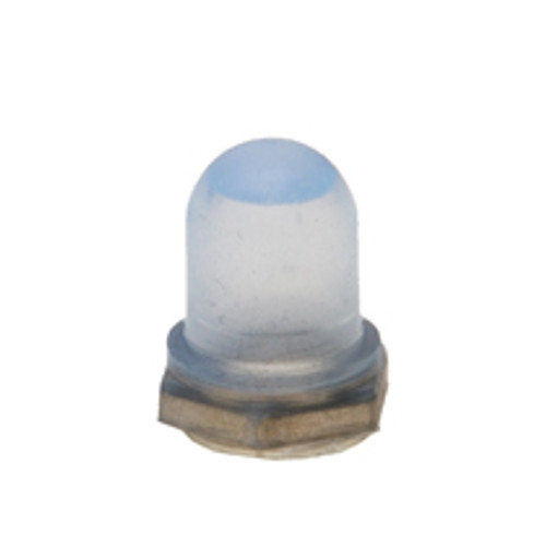 1231, protective boot, Full Push button Boot 3/8-32 Thread Clear