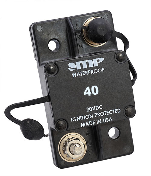 Mechanical Products Type 1 Auto Reset 40 amp Breaker 171-S0-040-2