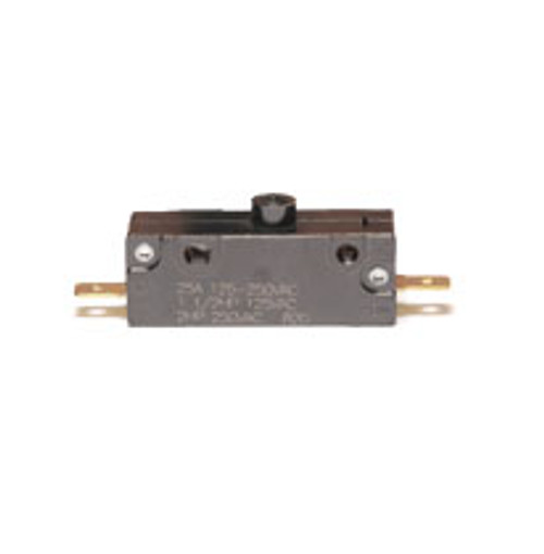 snap action switch, emb, 303-9029, normally open, momentary on, button plunger, 25 amp,