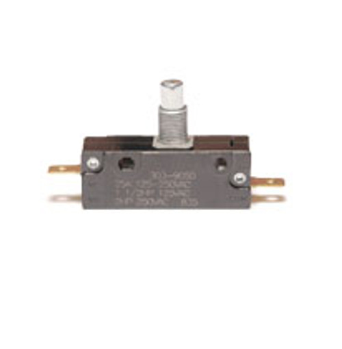 EMB Snap Action Switch 303-9050, normally closed, overtravel plunger, Z5390211, 919677, 25043, interlock switch, 42-1514, 7000400, 46939050