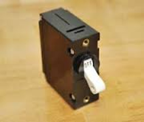 Carling Technologies Circuit breaker, 5 amp, A Series, single pole, magnetic AA1-B0-34-450-3B1-C