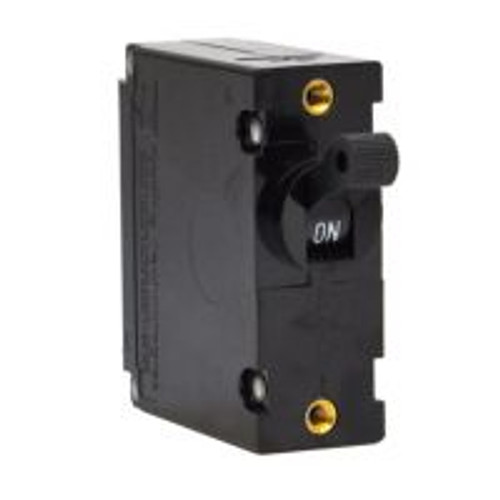 Carling Technologies Circuit breaker, 7.5 amp, C Series, single pole, magnetic, 10-32 threaded stud, CA1-B0-16-475-121-C