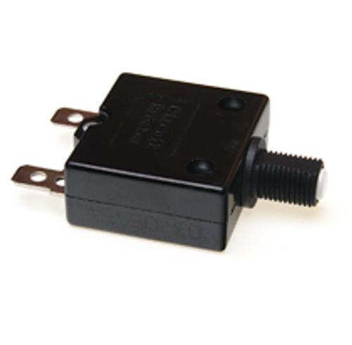 15 amp push to reset circuit breaker, white button, Carling, clb-153-27enn-w-a