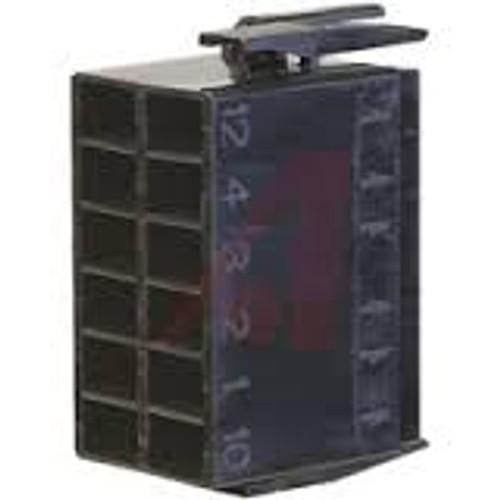 Terminal Connector Housing for L Series Rocker switch,  Black, Carling, LC1-01,00001639,033-9007,11030,130157,130157gt,15405698,40120002,810527,cf0368mcm1810,cn-12f25sw,cn-12f63nbk,cn-lc1-01,hsg421-p2686,m2401681,p-0383-pc,qc1976